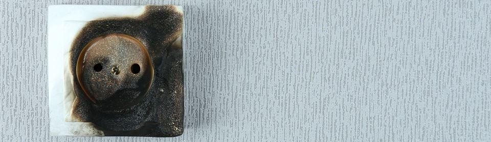 Stroomstoring kapot stopcontact