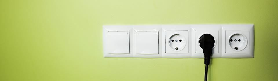 krachtstroom stopcontact